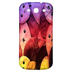Cute Leaves Samsung Galaxy S3 S Iii Classic Hardshell Back Case by Brittlevirginclothing