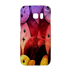 Cute Leaves Galaxy S6 Edge by Brittlevirginclothing