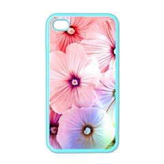 Rainbow Flower Apple Iphone 4 Case (color) by Brittlevirginclothing