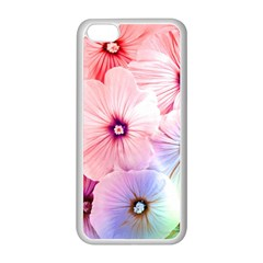 Rainbow Flower Apple Iphone 5c Seamless Case (white) by Brittlevirginclothing