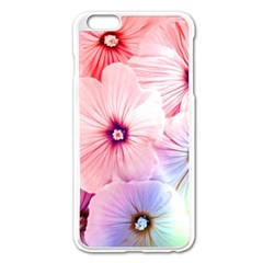 Rainbow Flower Apple Iphone 6 Plus/6s Plus Enamel White Case by Brittlevirginclothing