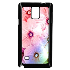 Rainbow Flower Samsung Galaxy Note 4 Case (black) by Brittlevirginclothing