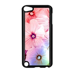 Rainbow Flower Apple Ipod Touch 5 Case (black) by Brittlevirginclothing