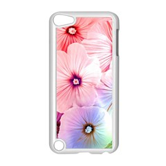 Rainbow Flower Apple Ipod Touch 5 Case (white) by Brittlevirginclothing