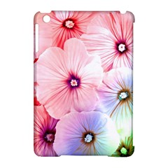 Rainbow Flower Apple Ipad Mini Hardshell Case (compatible With Smart Cover) by Brittlevirginclothing