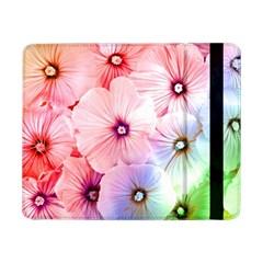 Rainbow Flower Samsung Galaxy Tab Pro 8 4  Flip Case by Brittlevirginclothing