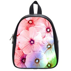 Rainbow Flower School Bags (small)  by Brittlevirginclothing