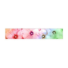 Rainbow Flower Flano Scarf (mini) by Brittlevirginclothing