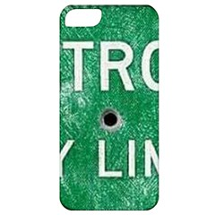 Detroit City Limits Apple Iphone 5 Classic Hardshell Case