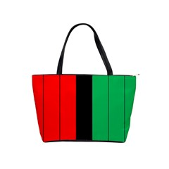 Kwanzaa Colors African American Red Black Green  Shoulder Handbags by yoursparklingshop