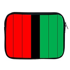 Kwanzaa Colors African American Red Black Green  Apple Ipad 2/3/4 Zipper Cases by yoursparklingshop
