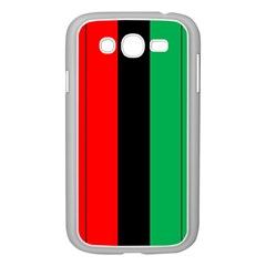 Kwanzaa Colors African American Red Black Green  Samsung Galaxy Grand Duos I9082 Case (white) by yoursparklingshop