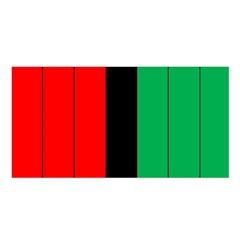 Kwanzaa Colors African American Red Black Green  Satin Shawl by yoursparklingshop
