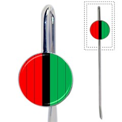 Kwanzaa Colors African American Red Black Green  Book Mark by yoursparklingshop