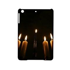 Hanukkah Chanukah Menorah Candles Candlelight Jewish Festival Of Lights Ipad Mini 2 Hardshell Cases by yoursparklingshop