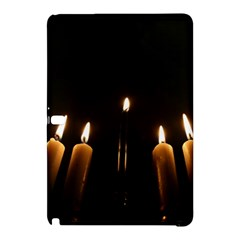 Hanukkah Chanukah Menorah Candles Candlelight Jewish Festival Of Lights Samsung Galaxy Tab Pro 10 1 Hardshell Case by yoursparklingshop