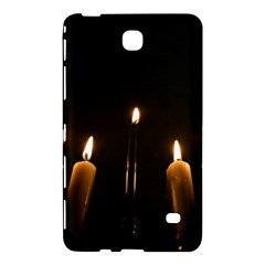 Hanukkah Chanukah Menorah Candles Candlelight Jewish Festival Of Lights Samsung Galaxy Tab 4 (7 ) Hardshell Case  by yoursparklingshop