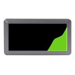Black And Green Memory Card Reader (mini) by Valentinaart
