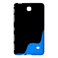 Blue And Black Samsung Galaxy Tab 4 (8 ) Hardshell Case  by Valentinaart