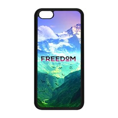 Freedom Apple Iphone 5c Seamless Case (black) by Brittlevirginclothing