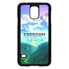 Freedom Samsung Galaxy S5 Case (black) by Brittlevirginclothing