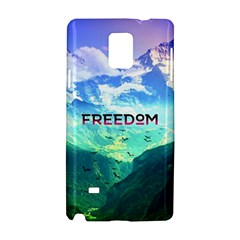 Freedom Samsung Galaxy Note 4 Hardshell Case by Brittlevirginclothing