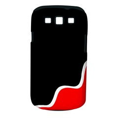 Simple Red And Black Desgin Samsung Galaxy S Iii Classic Hardshell Case (pc+silicone) by Valentinaart