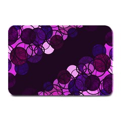 Purple Bubbles Plate Mats by Valentinaart
