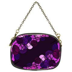 Purple Bubbles Chain Purses (one Side)  by Valentinaart