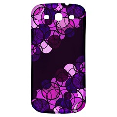 Purple Bubbles Samsung Galaxy S3 S Iii Classic Hardshell Back Case by Valentinaart