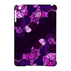 Purple bubbles Apple iPad Mini Hardshell Case (Compatible with Smart Cover) by Valentinaart