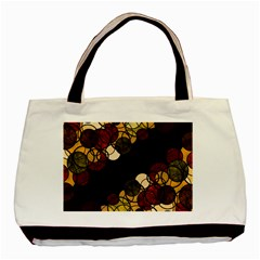 Autumn Bubbles Basic Tote Bag (two Sides) by Valentinaart