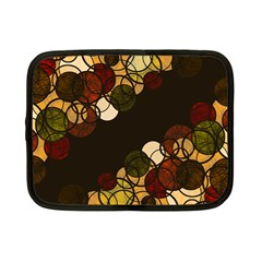 Autumn Bubbles Netbook Case (small)  by Valentinaart