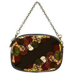 Autumn Bubbles Chain Purses (two Sides)  by Valentinaart