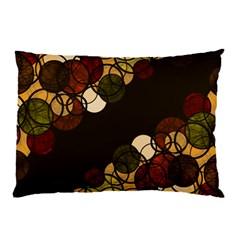 Autumn Bubbles Pillow Case by Valentinaart