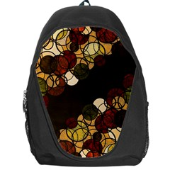 Autumn Bubbles Backpack Bag by Valentinaart