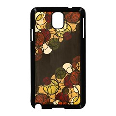 Autumn Bubbles Samsung Galaxy Note 3 Neo Hardshell Case (black) by Valentinaart