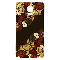 Autumn Bubbles Galaxy Note 4 Back Case by Valentinaart
