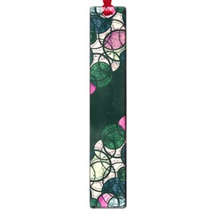 Green And Pink Bubbles Large Book Marks by Valentinaart