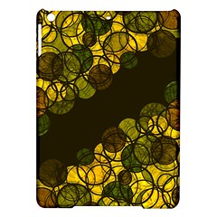 Yellow Bubbles Ipad Air Hardshell Cases by Valentinaart