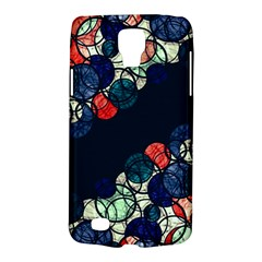 Orange And Blue Bubbles Galaxy S4 Active by Valentinaart