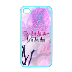 Magic Leaves Apple Iphone 4 Case (color) by Brittlevirginclothing