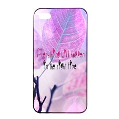 Magic Leaves Apple Iphone 4/4s Seamless Case (black) by Brittlevirginclothing
