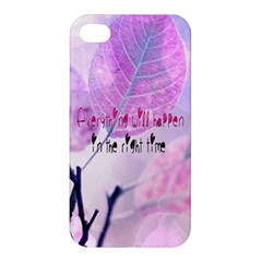 Magic Leaves Apple Iphone 4/4s Premium Hardshell Case by Brittlevirginclothing