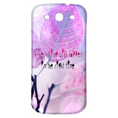 Magic Leaves Samsung Galaxy S3 S Iii Classic Hardshell Back Case by Brittlevirginclothing