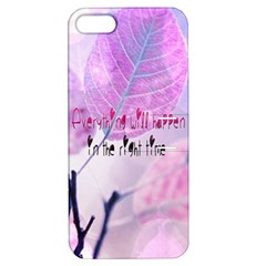 Magic Leaves Apple Iphone 5 Hardshell Case With Stand by Brittlevirginclothing