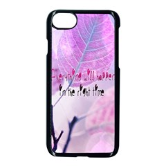 Magic Leaves Apple Iphone 7 Seamless Case (black) by Brittlevirginclothing