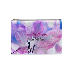 Magic Leaves Cosmetic Bag (medium)  by Brittlevirginclothing