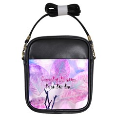 Magic Leaves Girls Sling Bags by Brittlevirginclothing