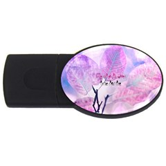 Magic Leaves Usb Flash Drive Oval (2 Gb)  by Brittlevirginclothing
